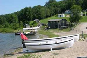 The Jolly Boat and the Gig at Discovery Harbour